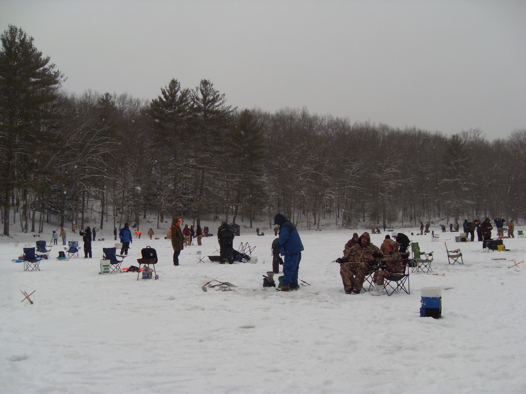 Bousquet Ice Fishing Derby to benefit The Arc Quinebaug Valley