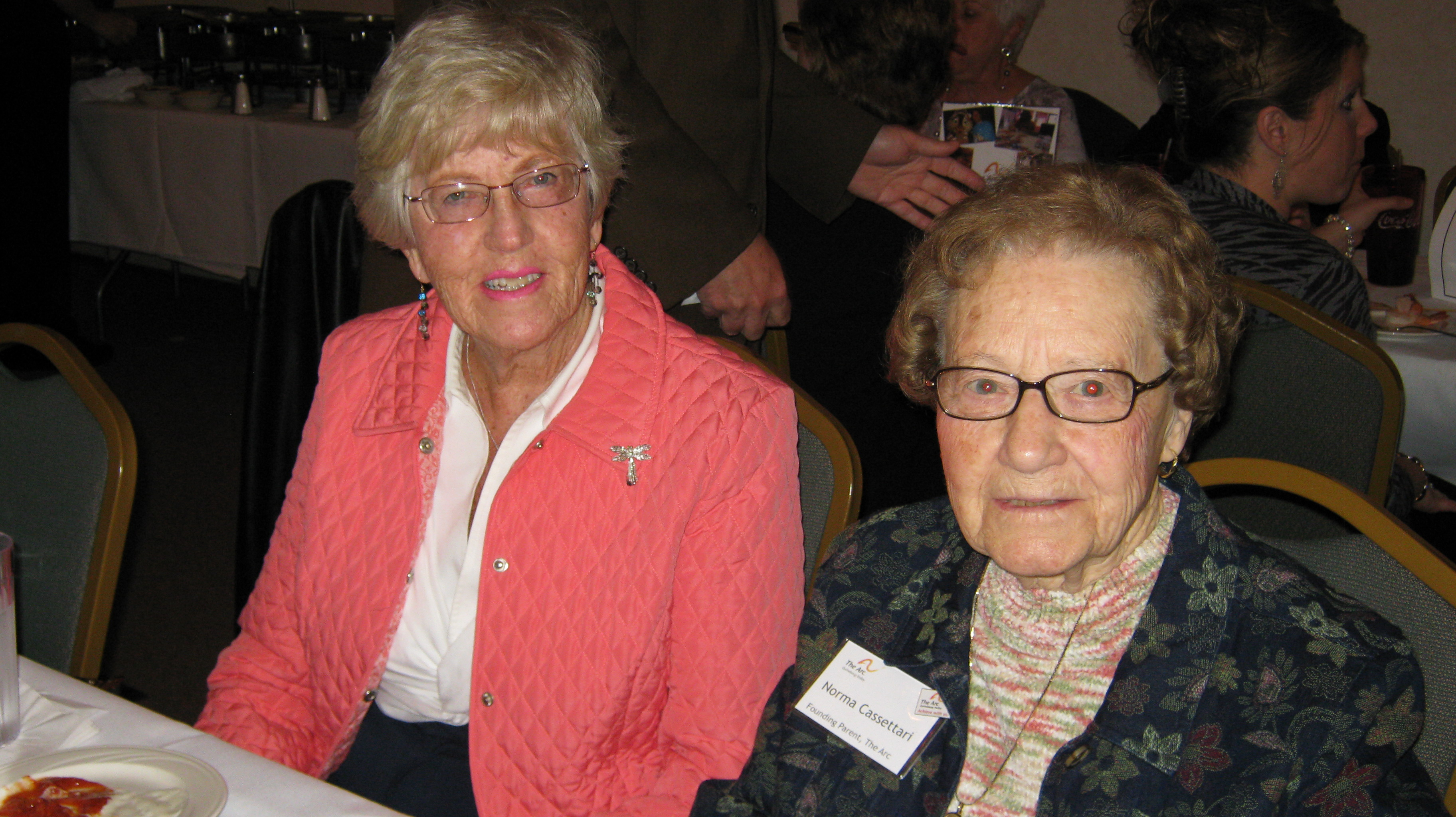 Founding Parent Norma Cassettari and Betty Hale
