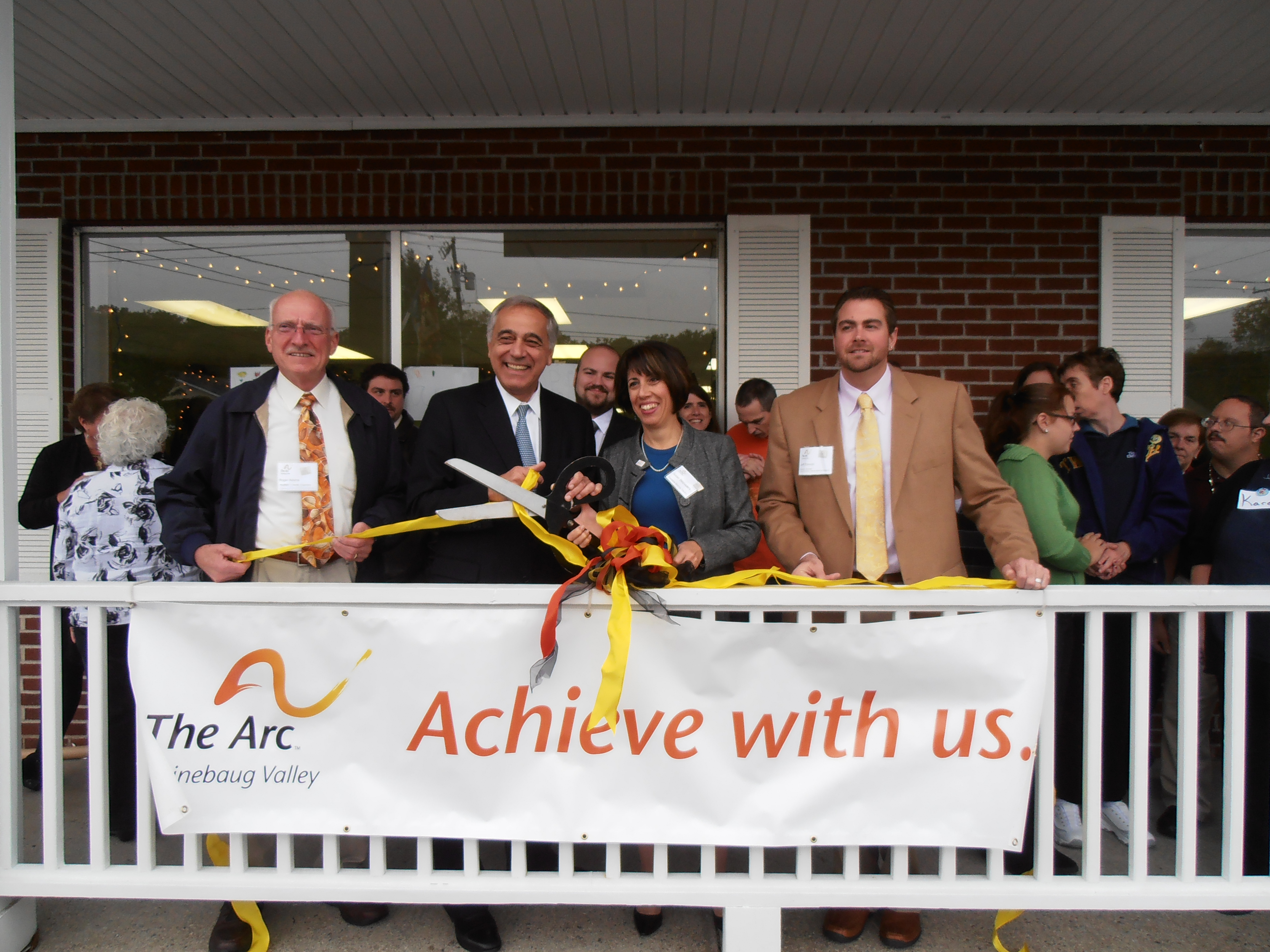 The Arc Quinebaug Valley Chaplin grand opening