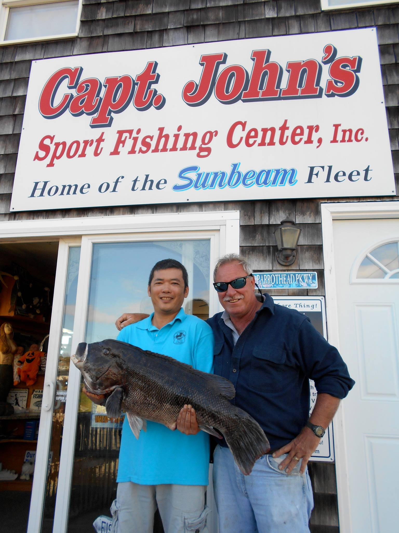 Home page for Party boat fishing ct